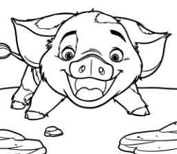 Pua Pig From Moana 5