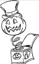 Pumpkin Head 1 Coloring Page