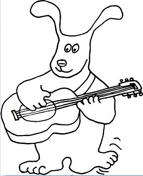 Puppy Dog Guitar