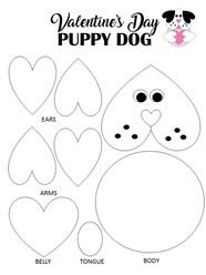 Puppy Dog Valentine Day