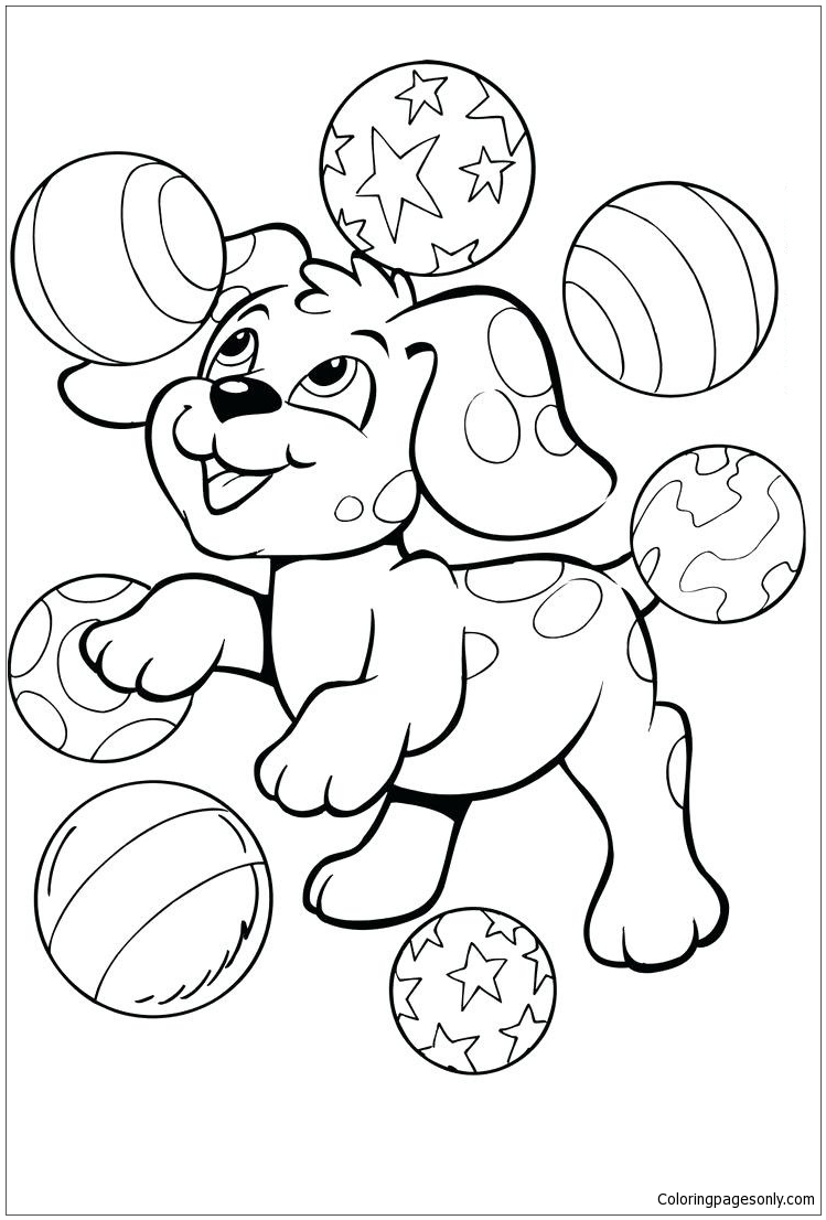 Free Cute Baby Puppies Coloring Pages, Download Free Clip Art ... | 1106x749
