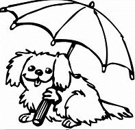 Cute Puppy with Heart Coloring Page - Free Coloring Pages ...