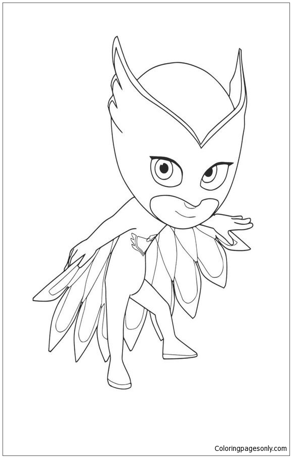Pyjamahelden Ausmalbilder Coloring Page Free Coloring