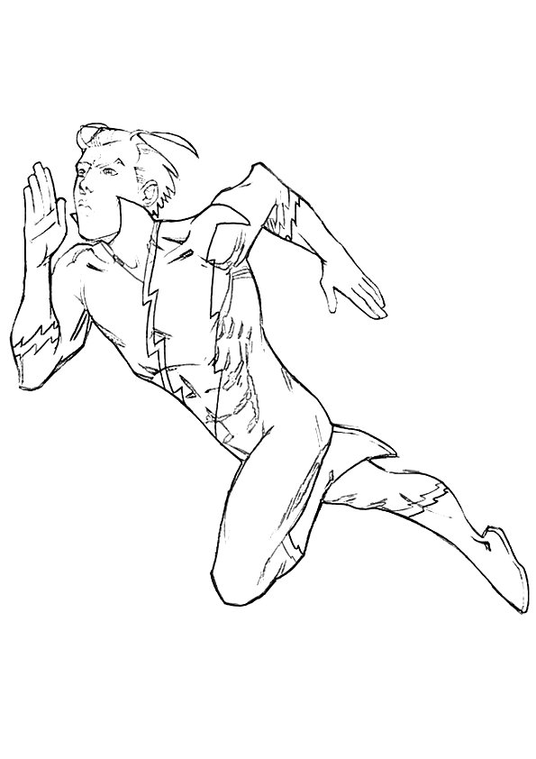 Superhero Spiderman HomeComing Coloring Page