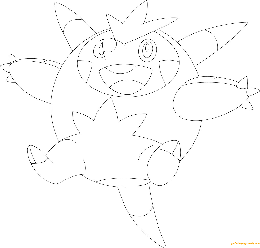 Quilladin Pokemon Coloring Page - Free Coloring Pages Online
