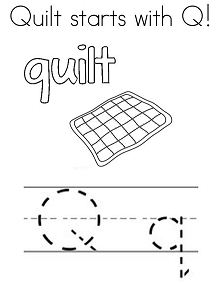 Quilt Starts With Q