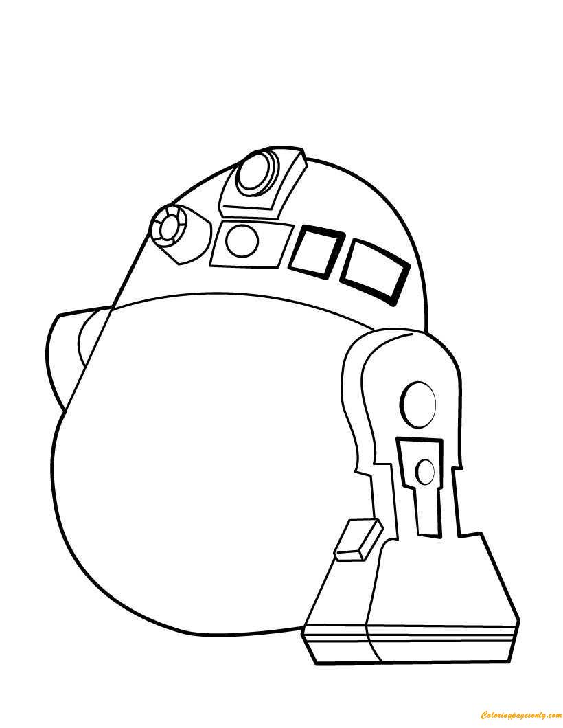 R2 D2 Coloring Pages