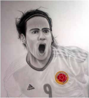 Radamel Falcao-image 1 Coloring Page