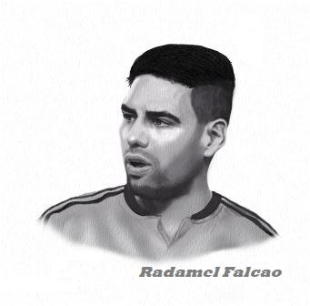 Radamel Falcao-image 3 Coloring Page