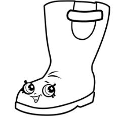 Rain Boots Jennifer Rayne Shopkins