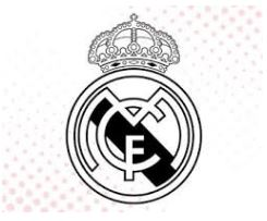 Real Madrid Coloring Page