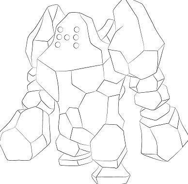 Regirock From Pokemon