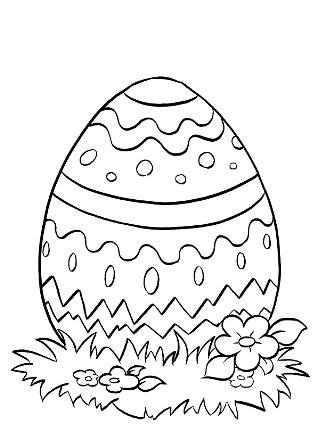 Religious Easter Egg