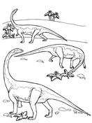 Riojasaurus Prosauropod Triassic Dinosaurs