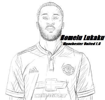 Romelu Lukaku-image 2 Coloring Page