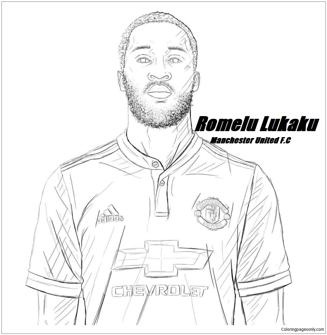 Romelu Lukakuimage 2 Coloring Page Free Coloring Pages