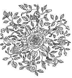 Rose Elf Mandala