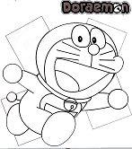 Running Doraemon