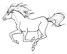 Running Horse 1