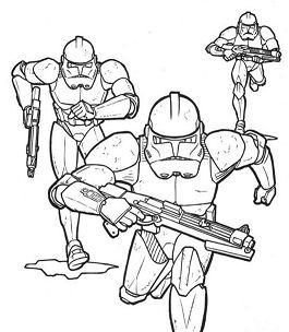 Running Storm Troopers