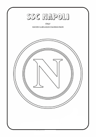 S.S.C. Napoli Coloring Page