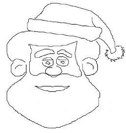 Saint Nicholas Face Coloring Page
