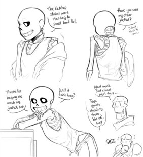 Sans In Friendship