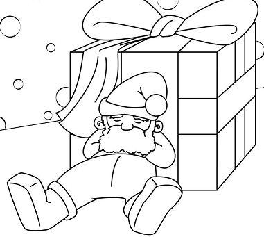 Santa Takes A Nap