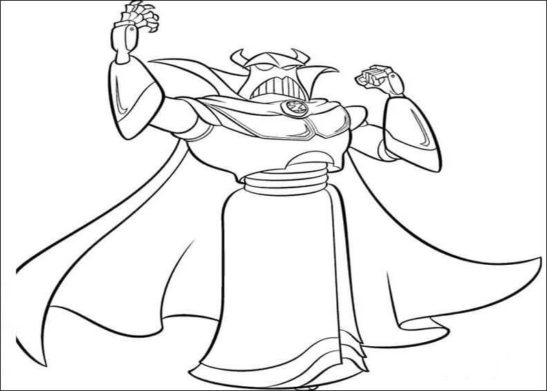 Sarge Head Coloring Page