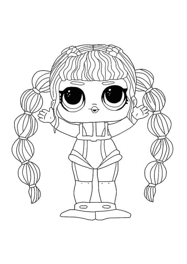 Lol Suprise Doll Scuba Babe