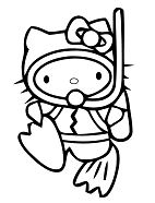 Scuba Diving Hello Kitty
