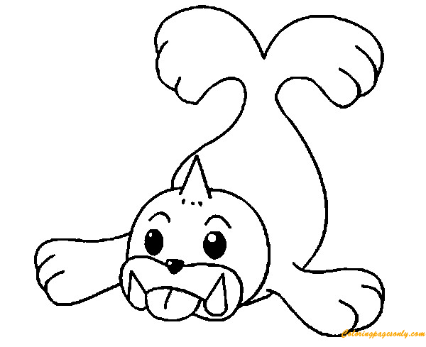 Seel Pokemon Coloring Page