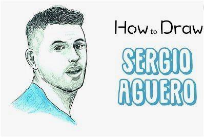 Sergio Agüero-image 2 Coloring Page