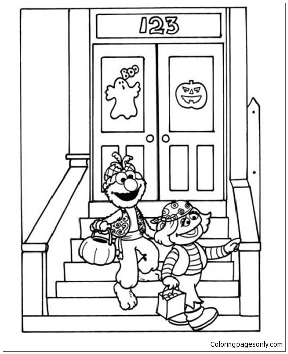 Sister Bear Watering The Garden Coloring Pages : Color Luna | 694x565