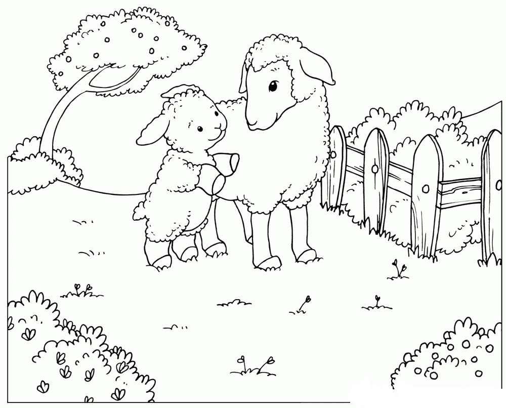 baby animals in spring coloring page free coloring pages online