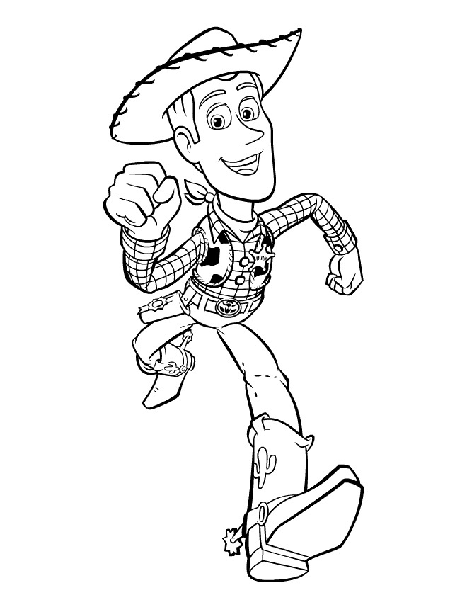 Sheriff Woody is running
