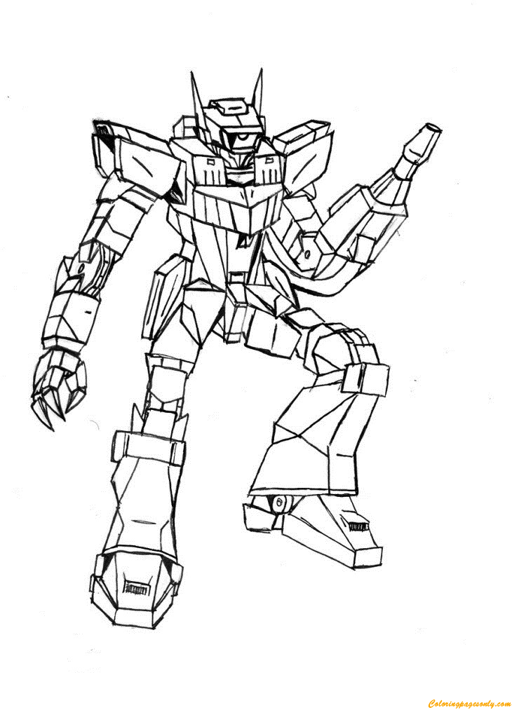 - Shockwave Transformer Coloring Page - Free Coloring Pages Online