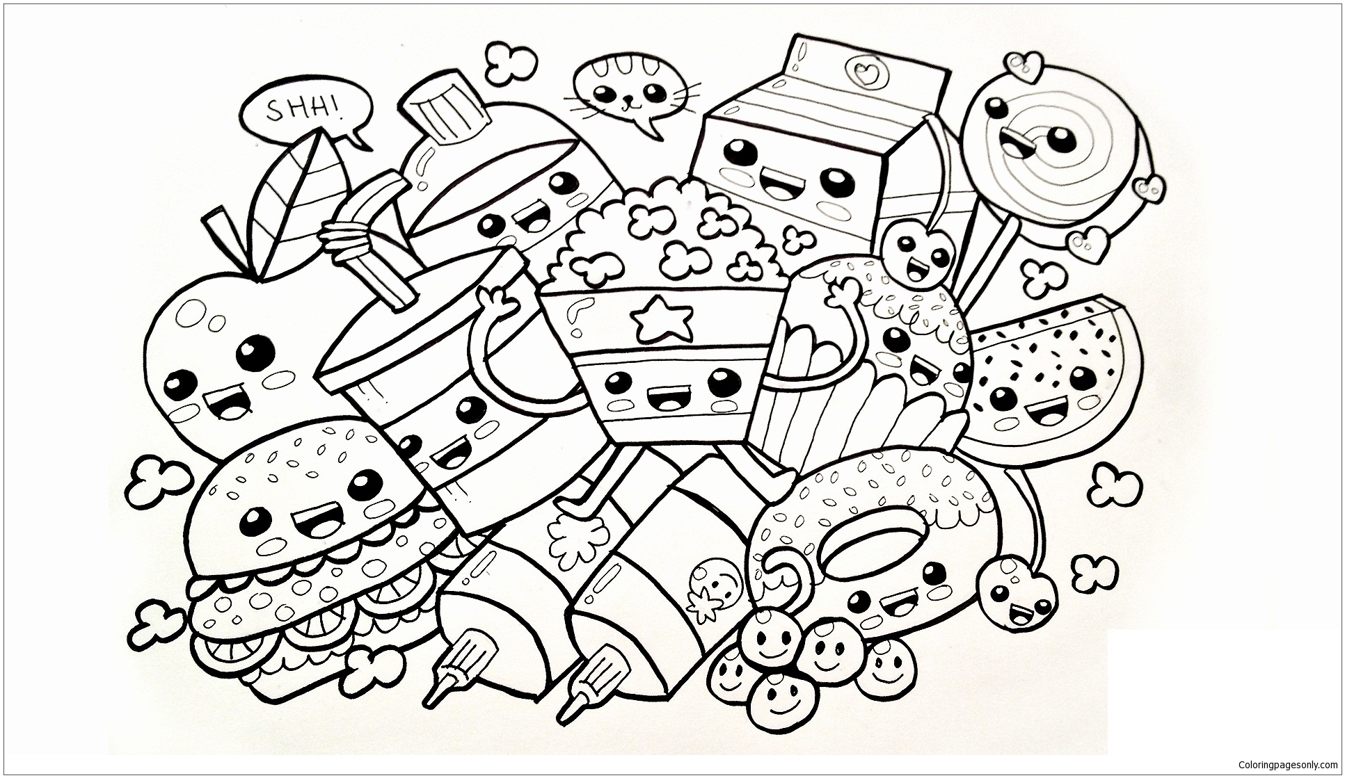 Shopkins - Image 4 Coloring Page - Free Coloring Pages Online