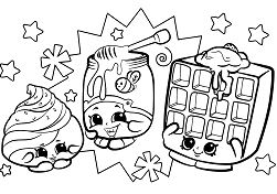 Shopkins Characters Wobbles