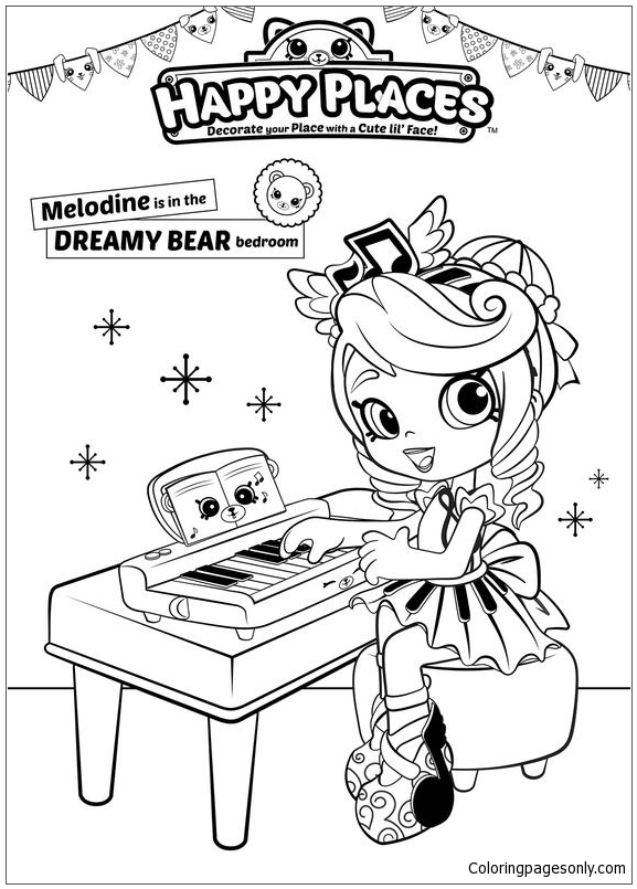 Shopkins Cute Girl 1 Coloring Pages - Toys And Dolls Coloring Pages - Free  Printable Coloring Pages Online