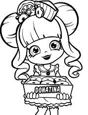 Shopkins Donatina Girl