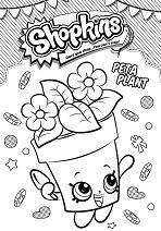 Shopkins Peta Plant