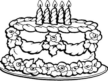 Shopkins Queenie Cake Coloring Page