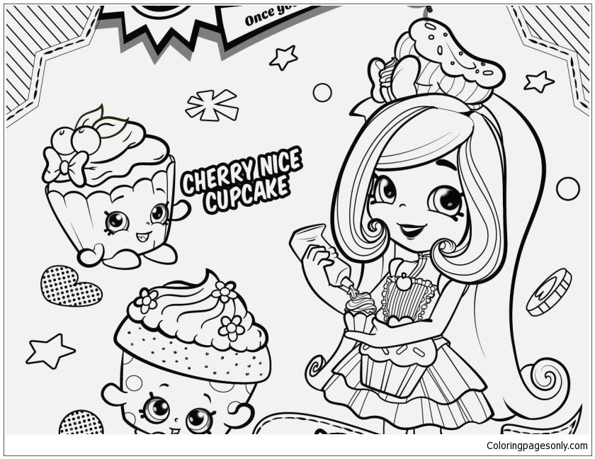 Shopkins Season 6 Chef Club Season Coloring Pages - Toys And Dolls Coloring  Pages - Free Printable Coloring Pages Online