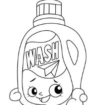 Shopkins Wash