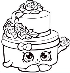 Shopkins Wedding Cake