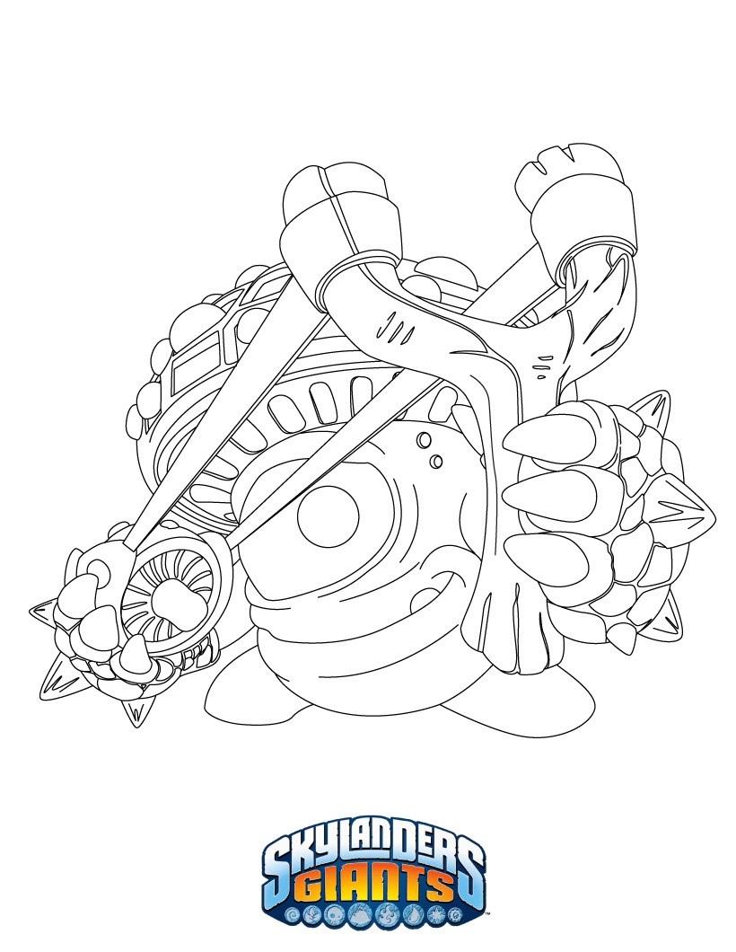 Skylanders Coloring Pages Skylanders To Color Ninjini adult | 1060x820