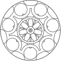 Simple Abstract Mandala