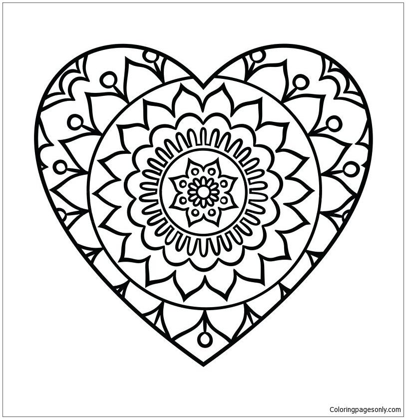 Easy Mandalas for kids - 100% Mandalas Zen & Anti-stress | 839x813