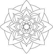 Simple Mandala 10